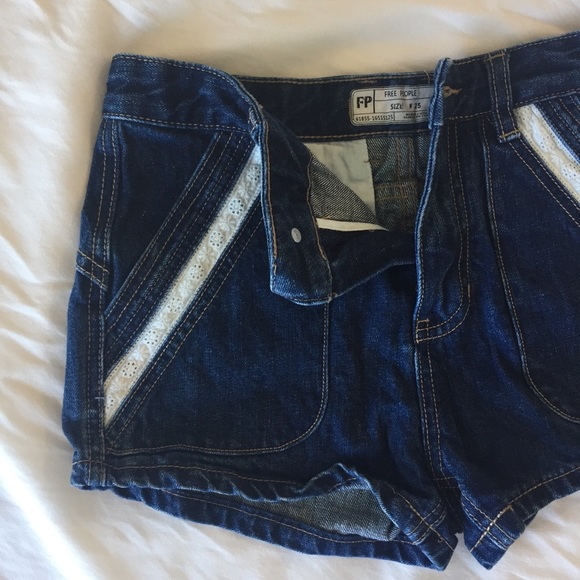3 FOR $30 Free People Demin and Lace Shorts